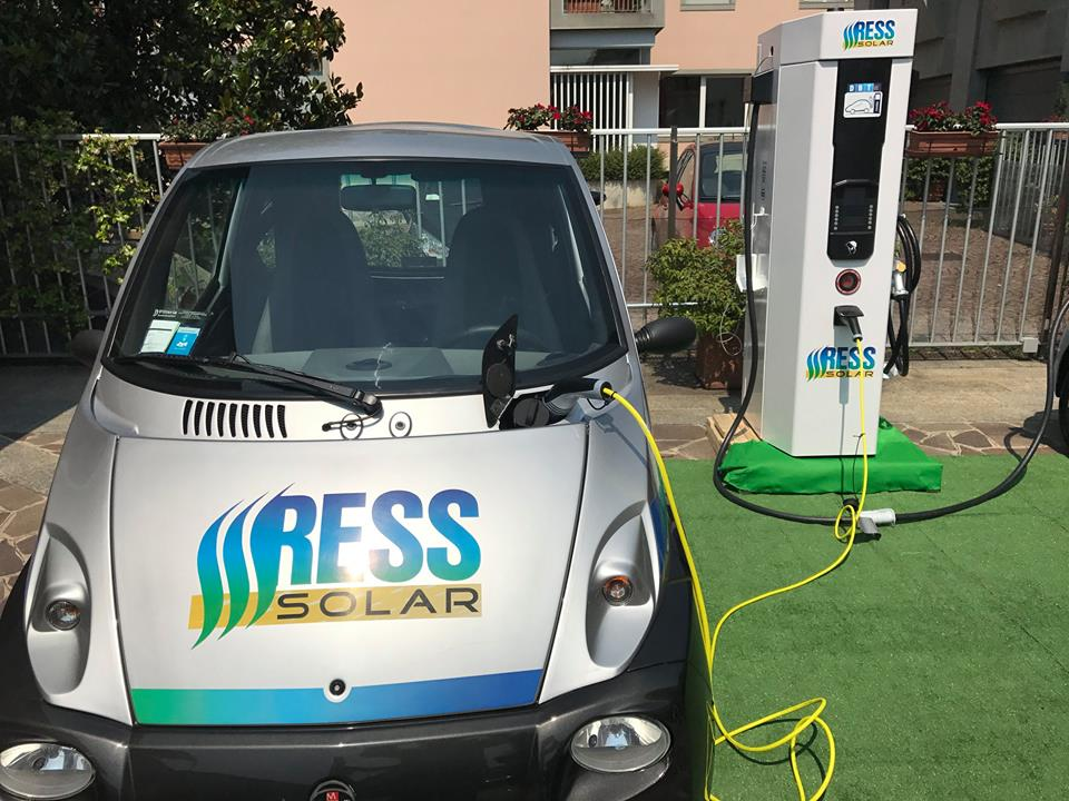 E-mobility: a Zogno e San Pellegrino arrivano le nostre colonnine