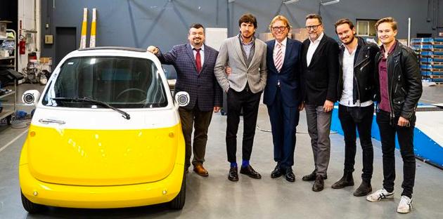 Microlino, a produrlo sarà la Germania, l'annuncio dei creatori svizzeri