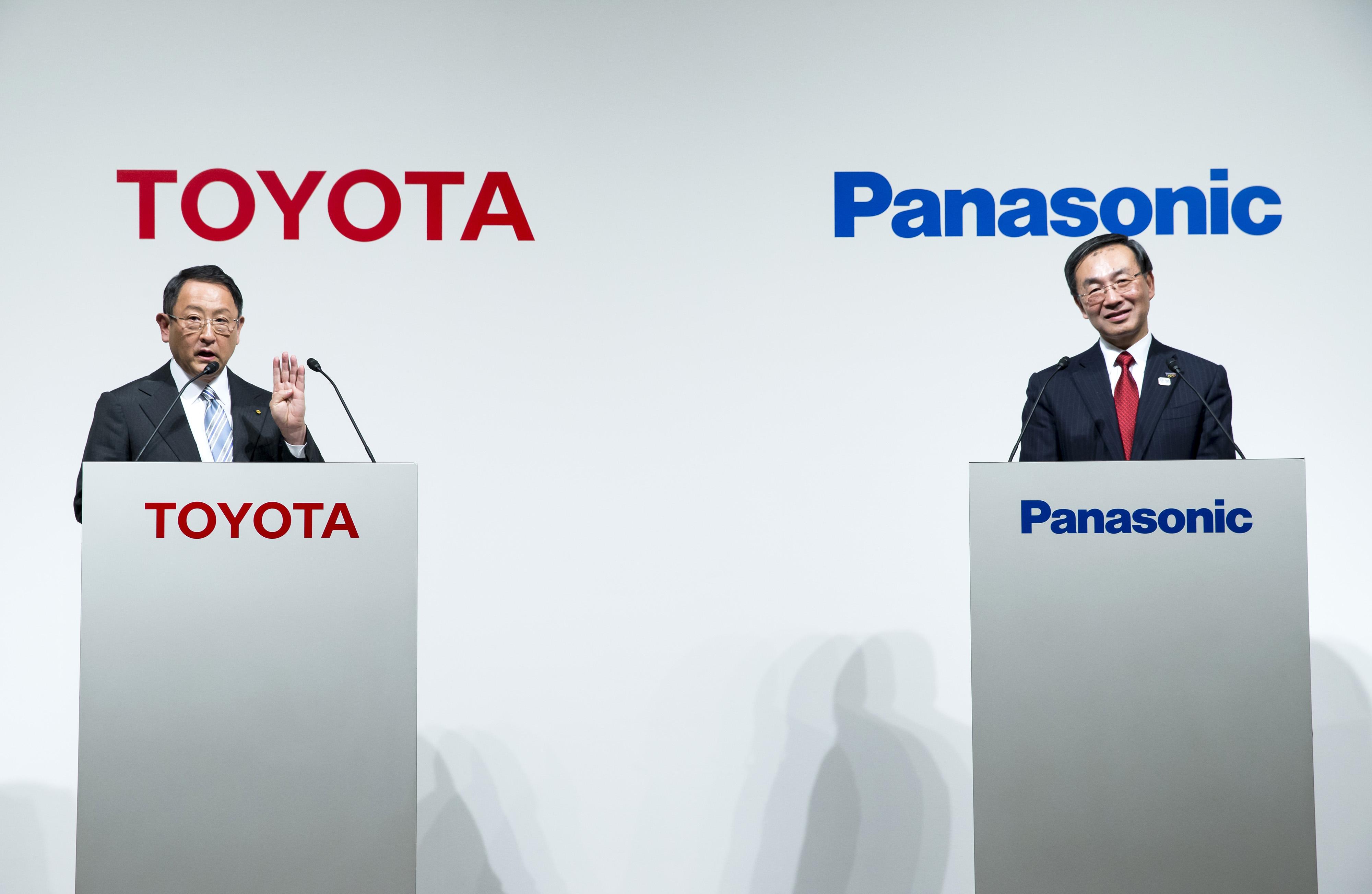ToyotaePanasonic unite per le batterie delle auto elettriche